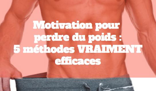 Motivation a perdre du poids