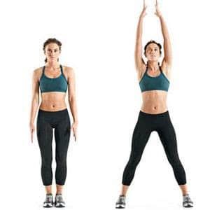 jumping-jack-abdos-hiit exercices pour brûler des graisses